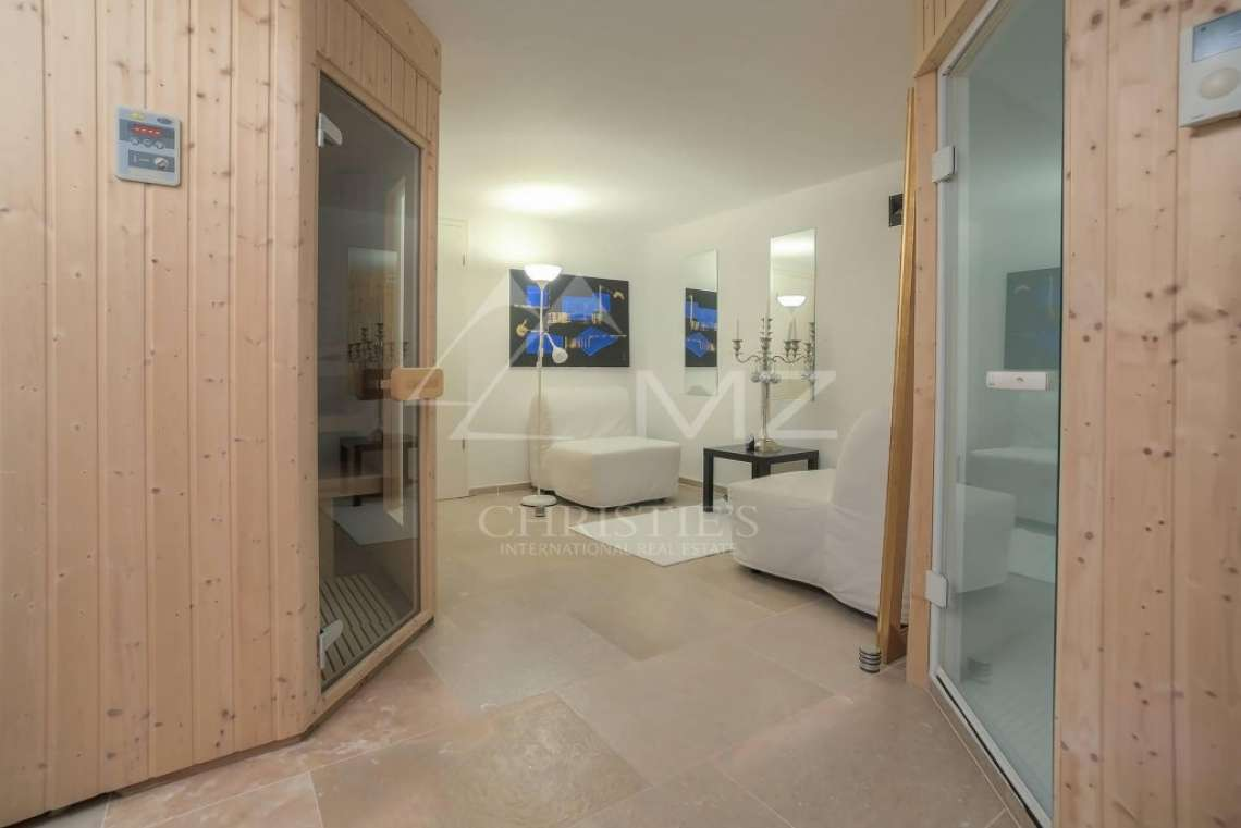 Cannes backcountry - Contemporary designer villa with panoramic sea view - photo21