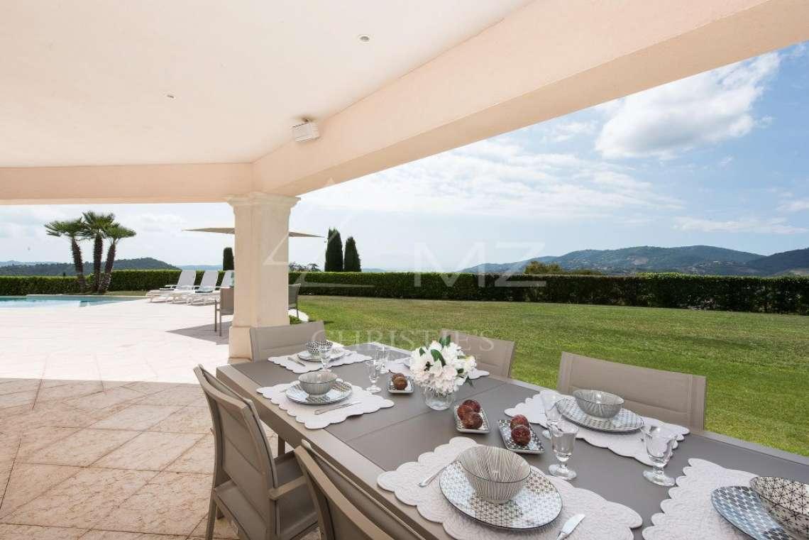 Arrière-pays cannois - Villa d'architecte avec vue panoramique - photo8