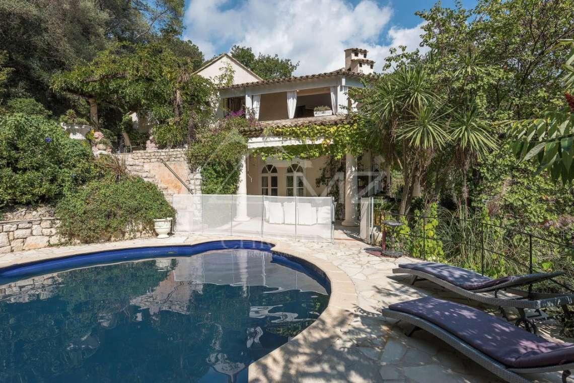 Proche Saint-Paul de Vence  - Ravissante villa de style colonial - photo9