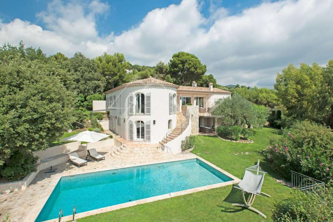 Saint Paul-de-Vence - Belle villa avec vue mer - photo4