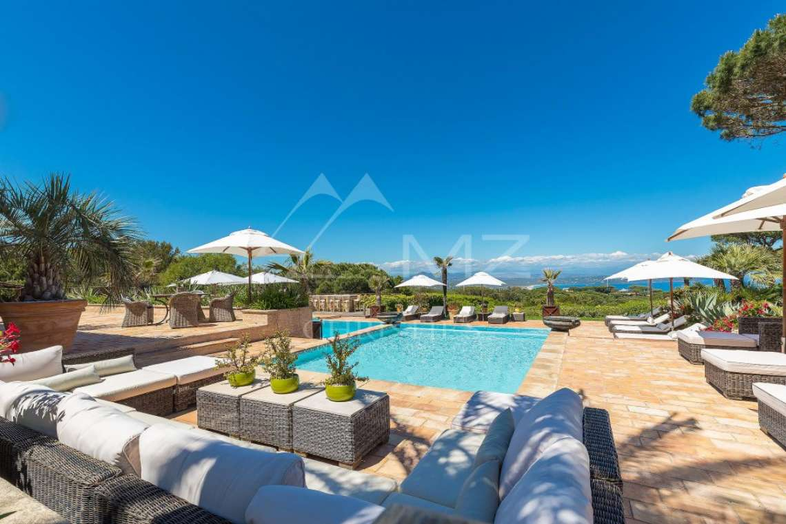 Close To Saint-Tropez - Magnificent Property with fantastic view onto Pampelonne - photo3