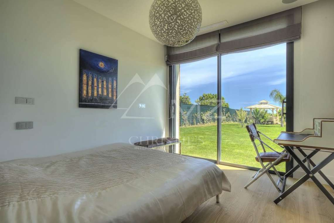 Antibes - Villa californienne avec vue mer - photo11
