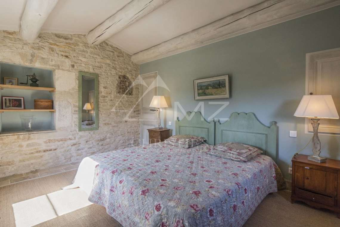 Gordes - Beautiful stone house with tennis court and heated pool - photo13