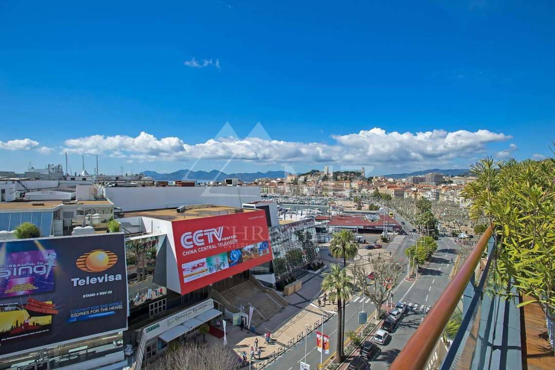 Cannes - Croisette - Exceptional penthouse - photo11