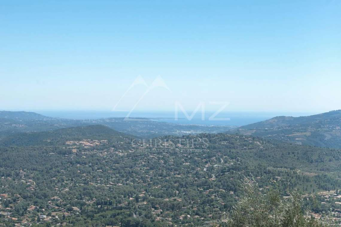Cannes backcountry - Contemporary designer villa with panoramic sea view - photo8