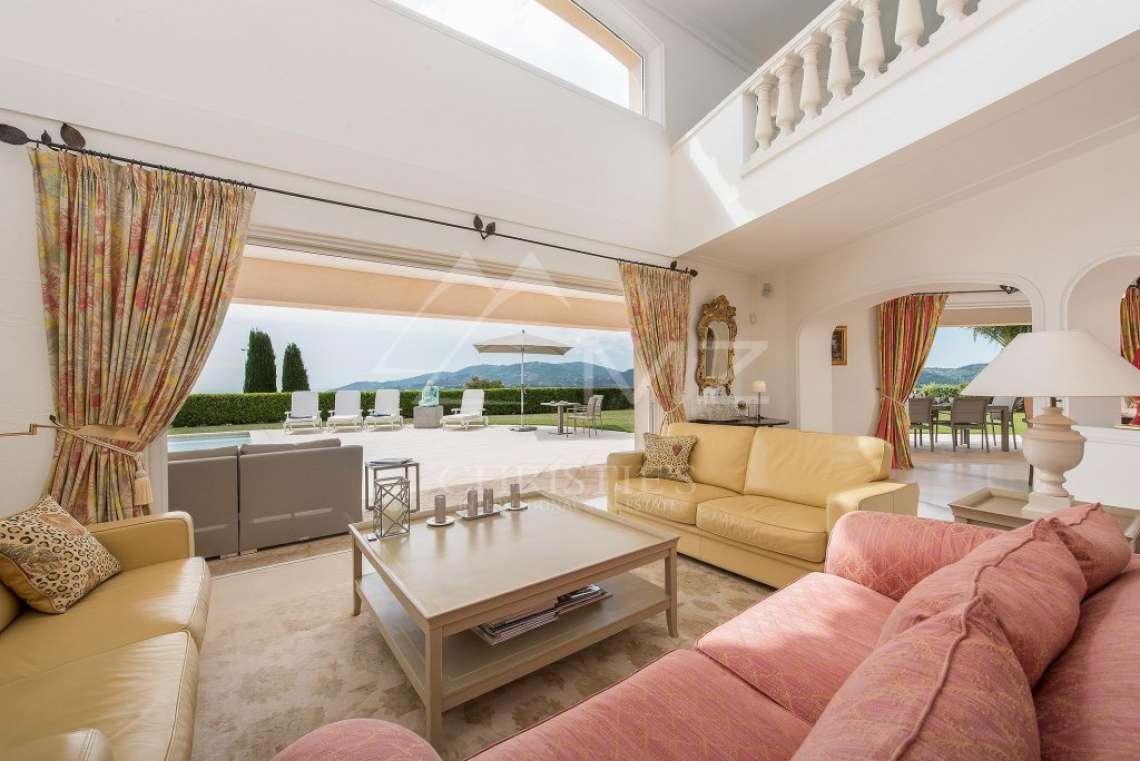Arrière-pays cannois - Villa d'architecte avec vue panoramique - photo11