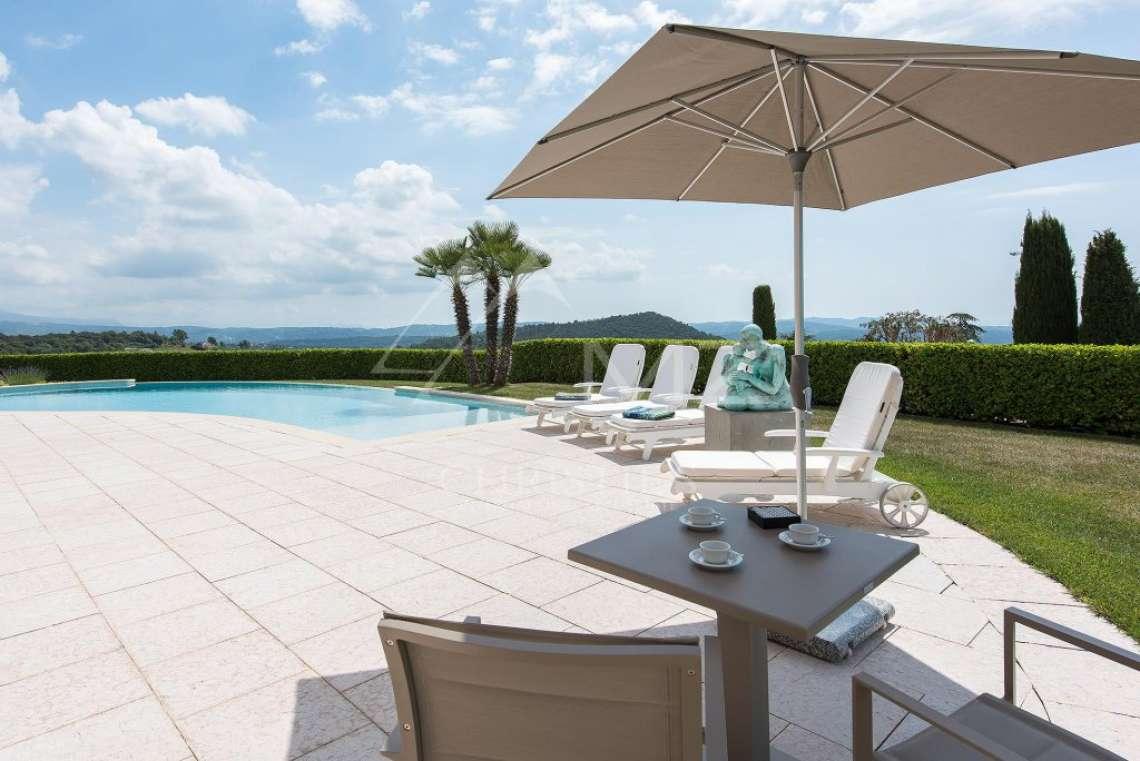 Arrière-pays cannois - Villa d'architecte avec vue panoramique - photo7
