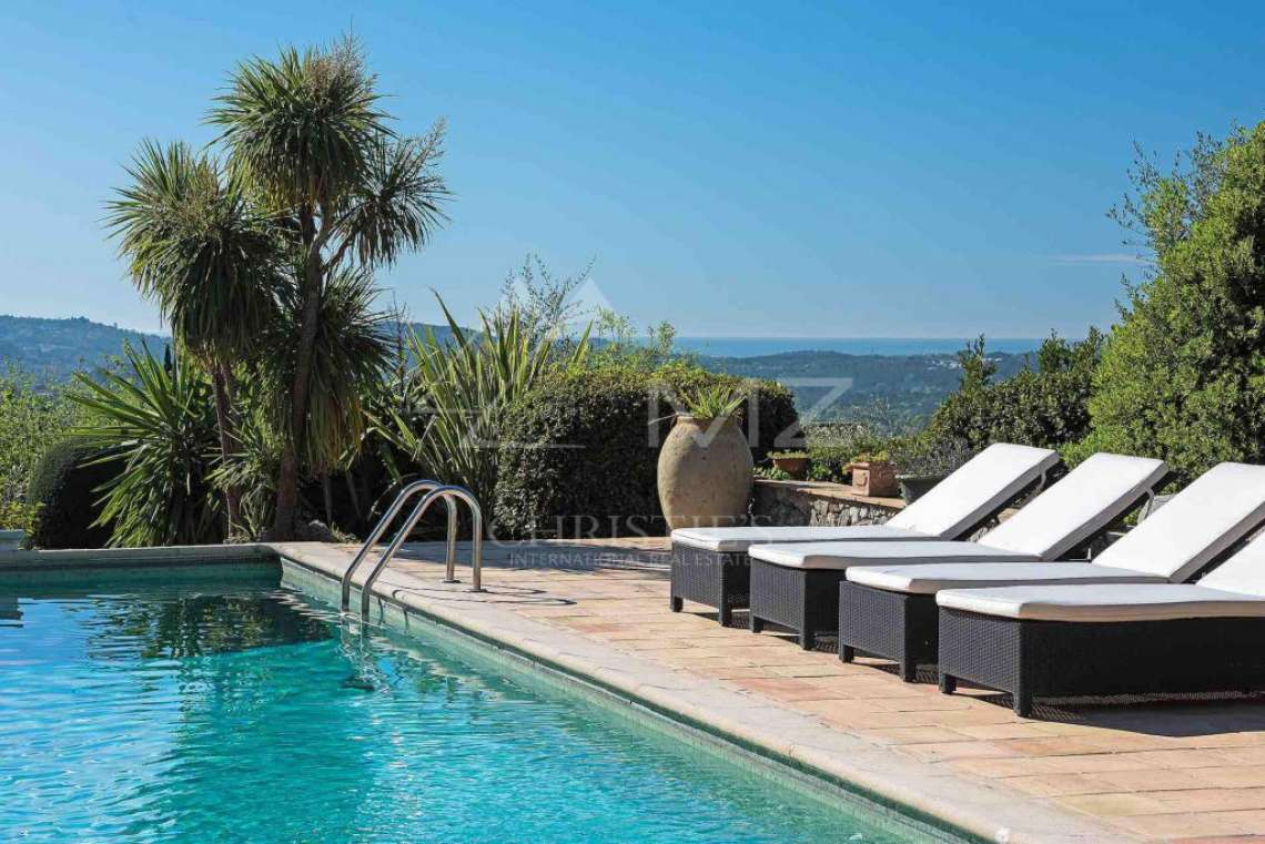 Cannes back country - Provençal villa with sea view - photo14