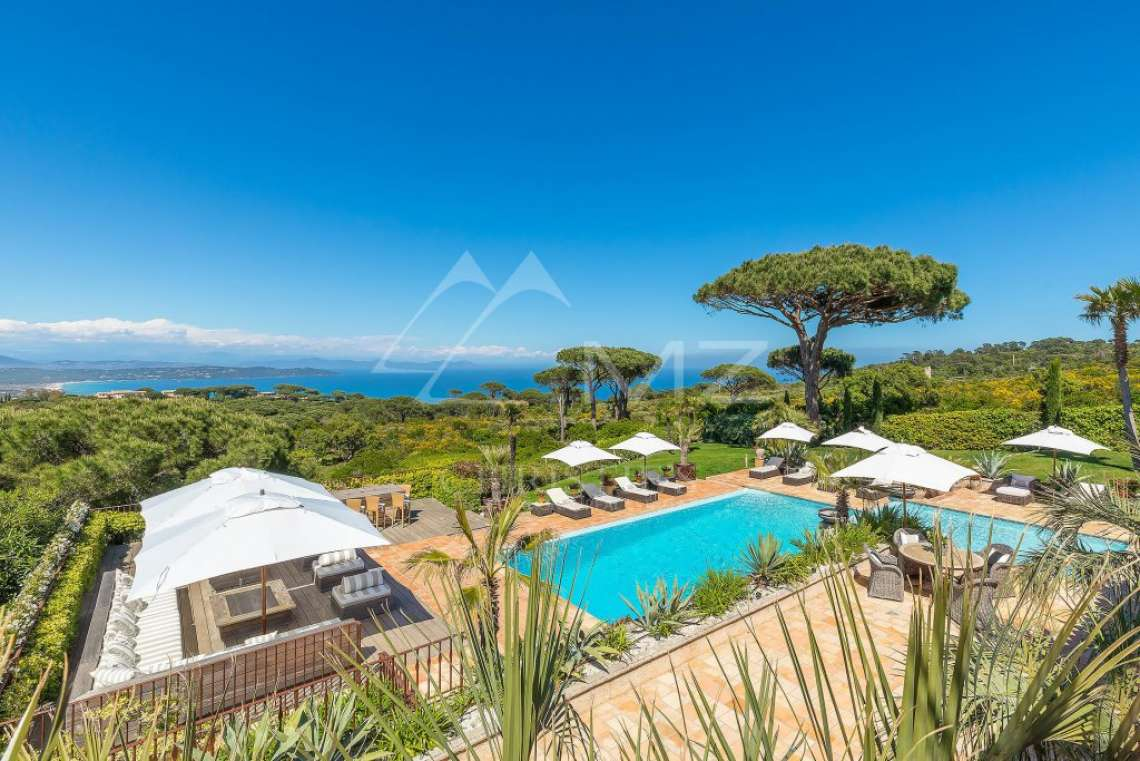 Close To Saint-Tropez - Magnificent Property with fantastic view onto Pampelonne - photo2