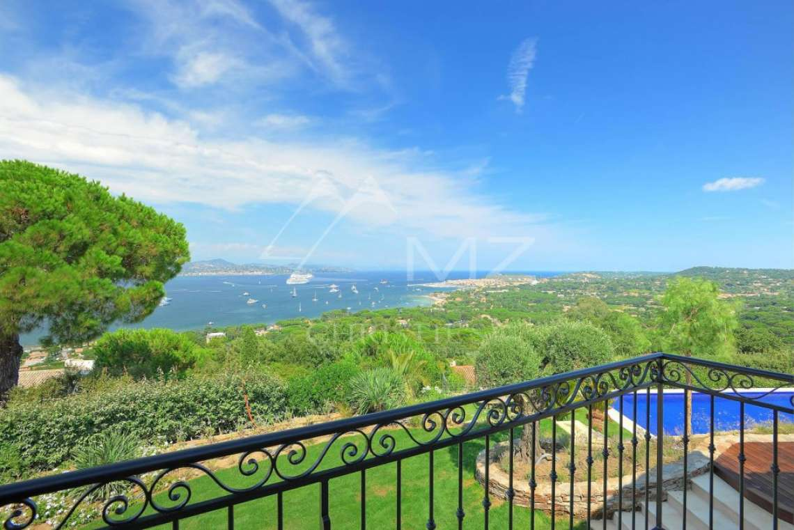 Close to Saint-Tropez - Property with breathtaking sea view - photo6