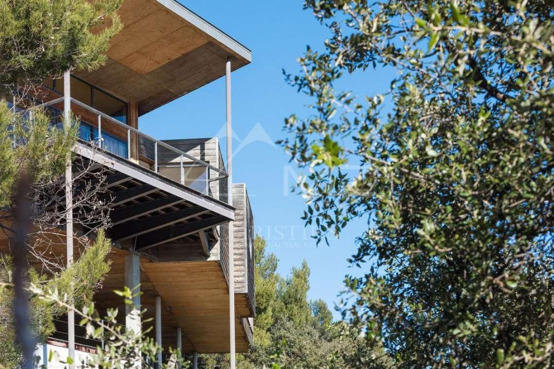 Arrière-pays cannois - Villa contemporaine avec vue - photo9