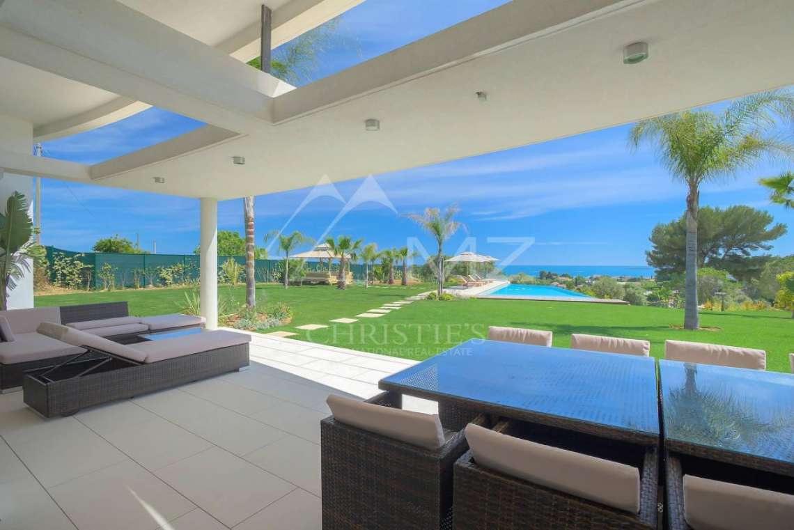 Antibes - Villa californienne avec vue mer - photo2