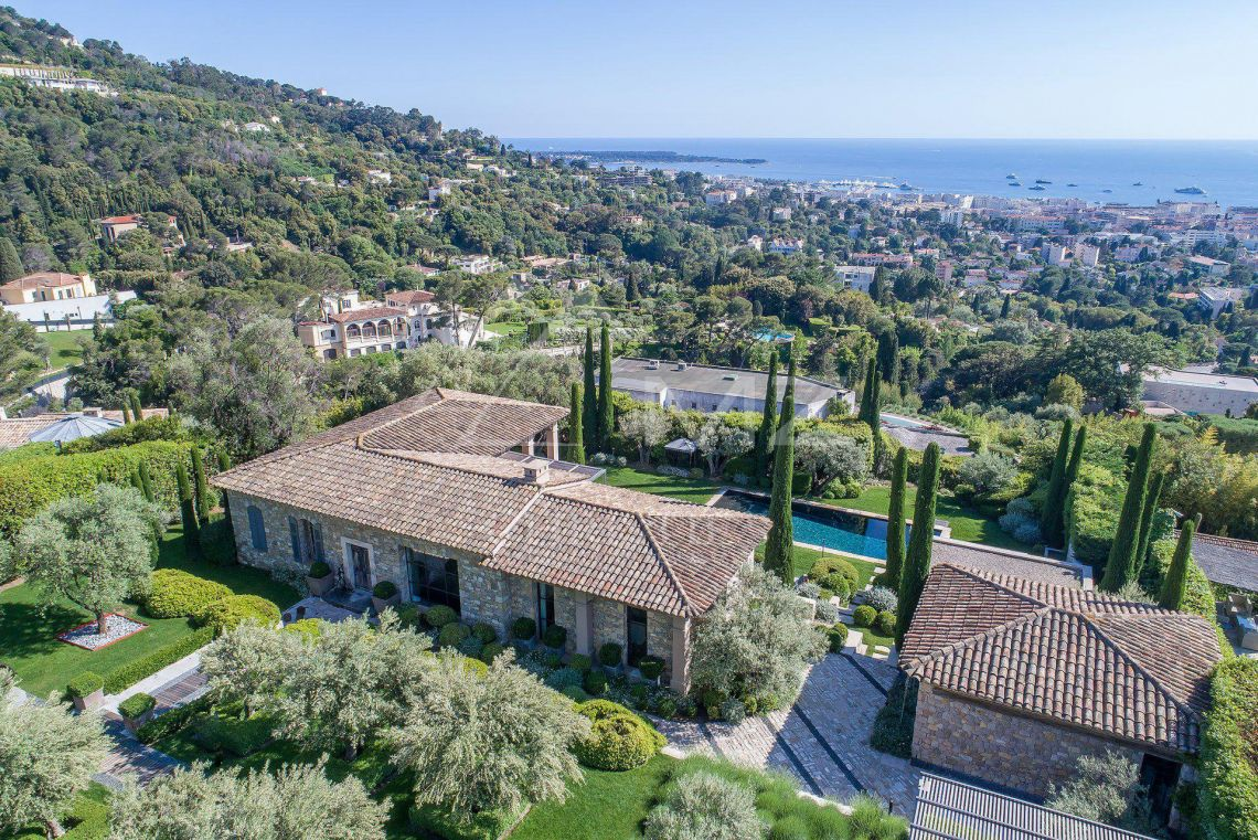 Cannes - Somptuous mansion with panoramic sea views - photo2