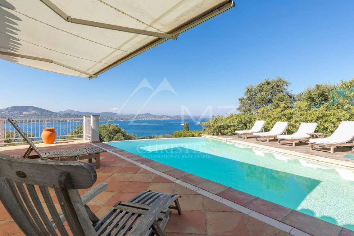 Near Saint-Tropez - Panoramic sea view - photo2