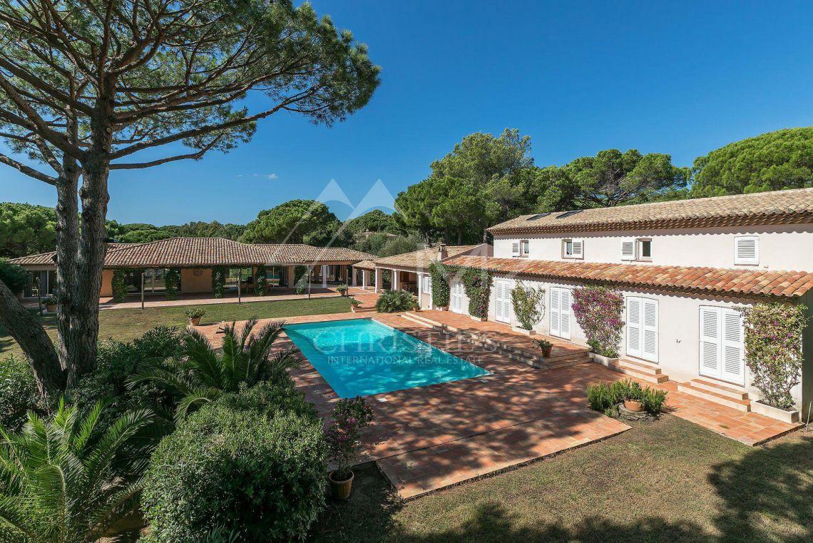 For Sale Saint Tropez Magnificent Property With A Tennis Court