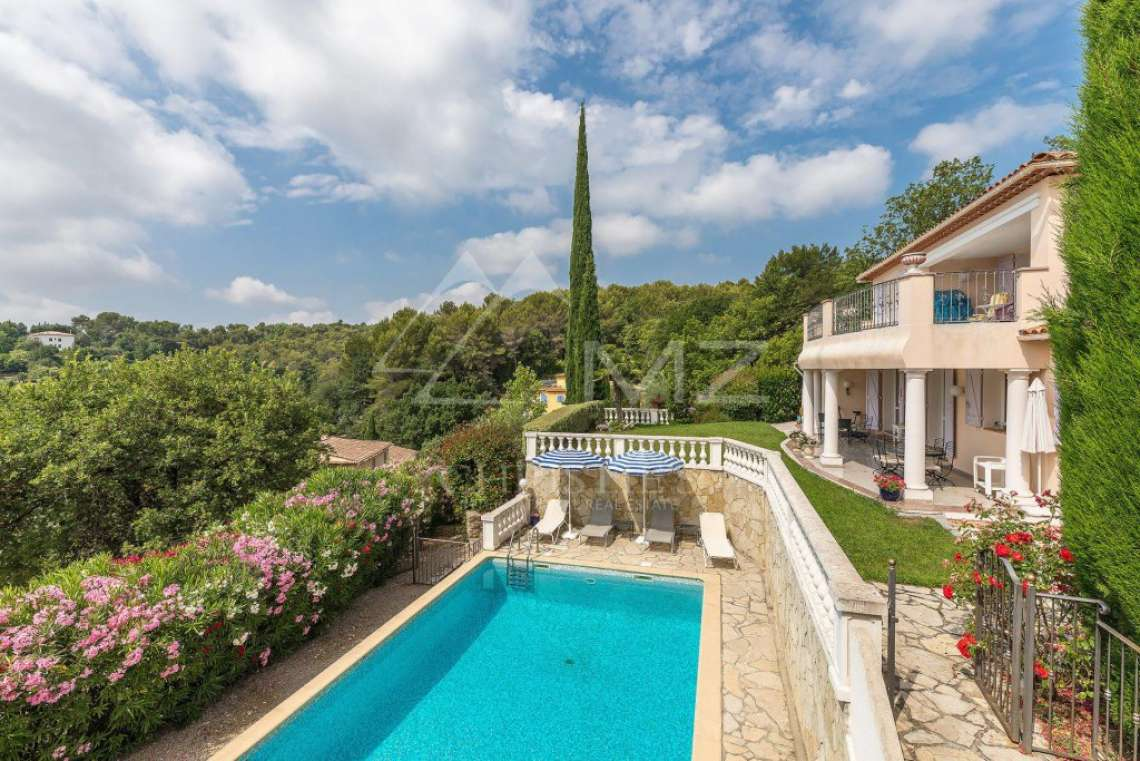 Cannes backcountry - Panoramic sea and hills view - photo2