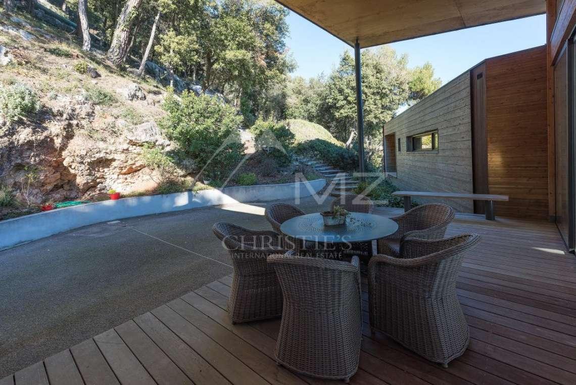 Arrière-pays cannois - Villa contemporaine avec vue - photo14