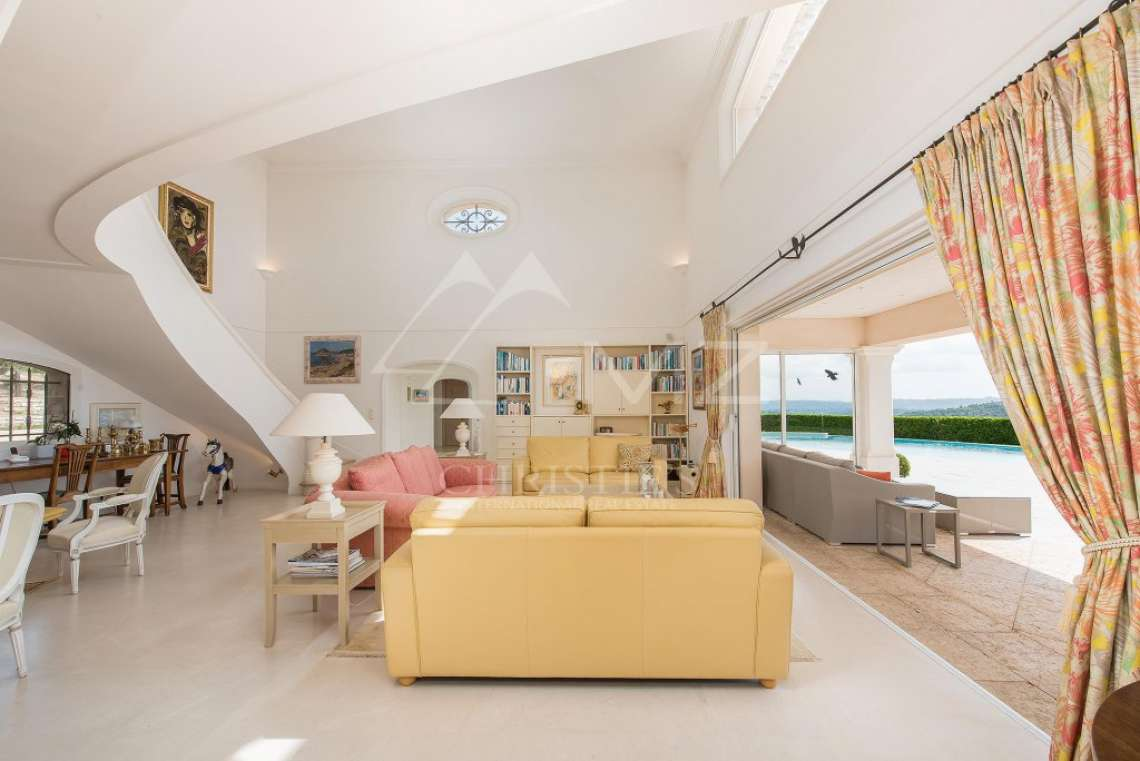 Arrière-pays cannois - Villa d'architecte avec vue panoramique - photo13