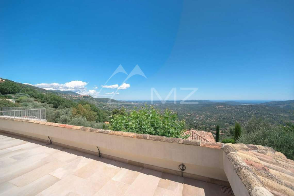 Cannes backcountry - Contemporary designer villa with panoramic sea view - photo7