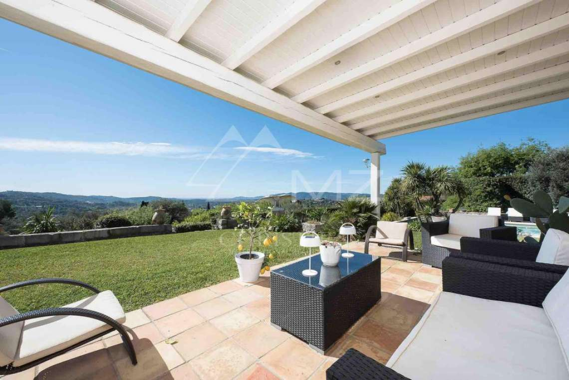 Cannes back country - Provençal villa with sea view - photo12