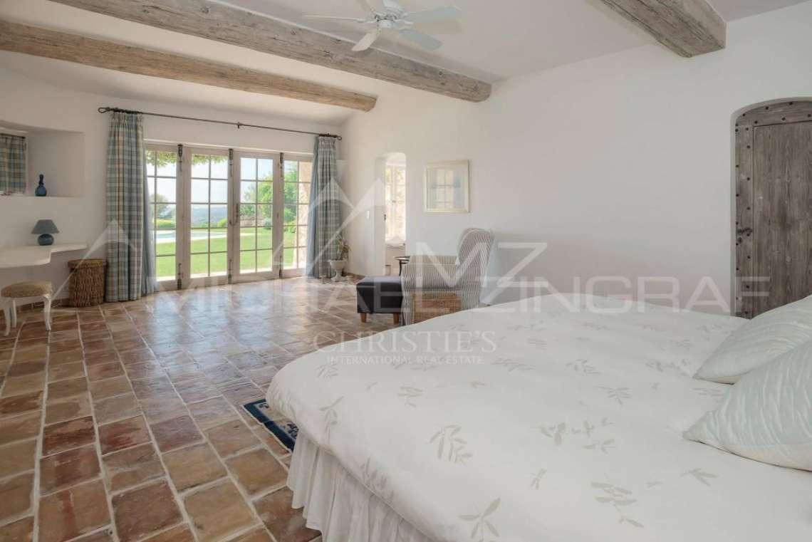 Saint-Paul de Vence - Villa avec vue mer panoramique dans domaine privé - photo18