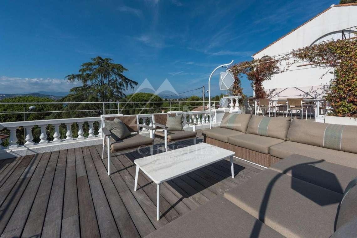 Cap d'Antibes - Remarquable villa avec vue mer - photo4
