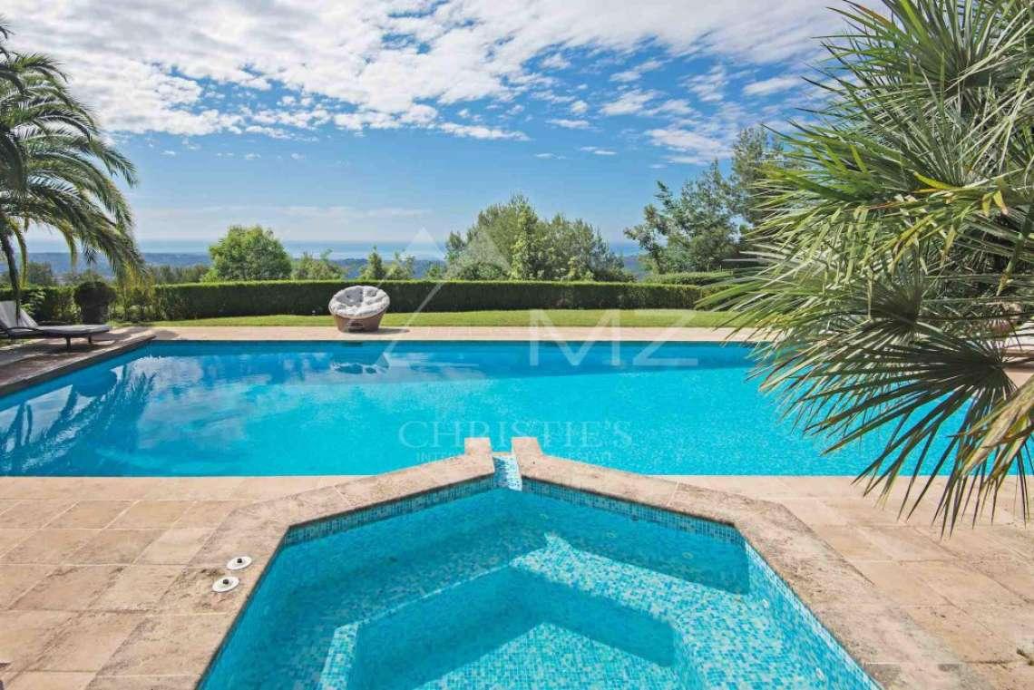 Saint-Paul de Vence - Villa avec vue mer panoramique dans domaine privé - photo4