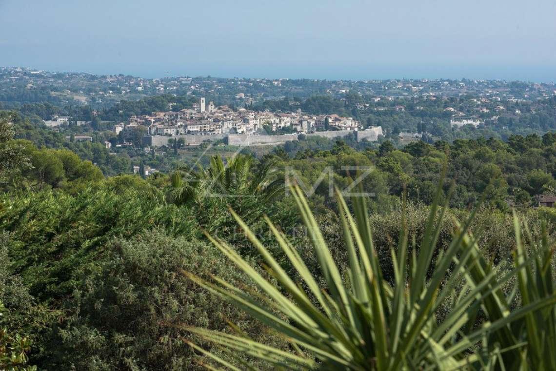 Proche Saint-Paul de Vence  - Magnifique vue mer et village - photo9