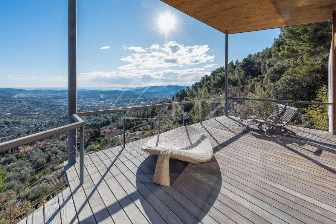 Arrière-pays cannois - Villa contemporaine avec vue - photo13