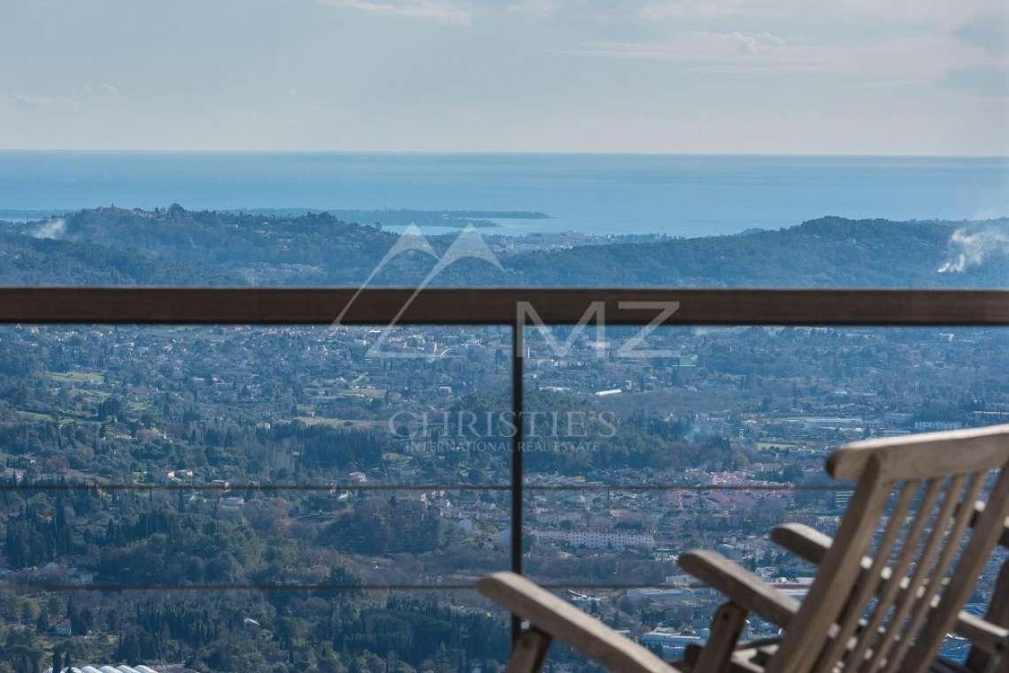 Arrière-pays cannois - Villa contemporaine avec vue - photo3