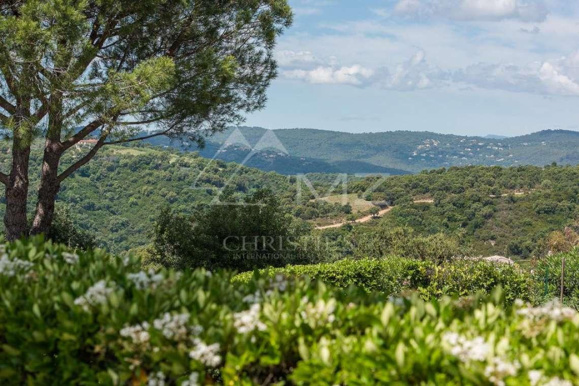 Arrière-pays cannois - Villa d'architecte avec vue panoramique - photo3