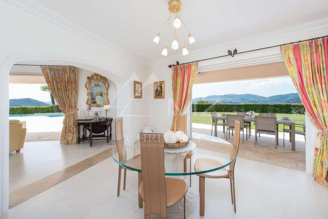 Arrière-pays cannois - Villa d'architecte avec vue panoramique - photo12