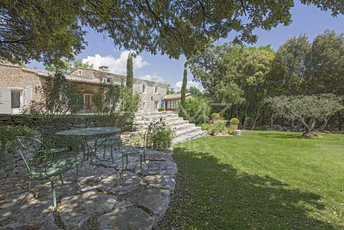 Gordes - Beautiful stone house with tennis court and heated pool - photo6