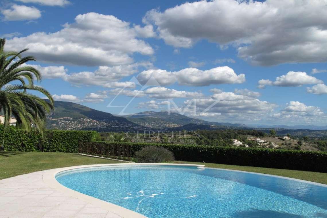 Arrière-pays cannois - Villa d'architecte avec vue panoramique - photo6