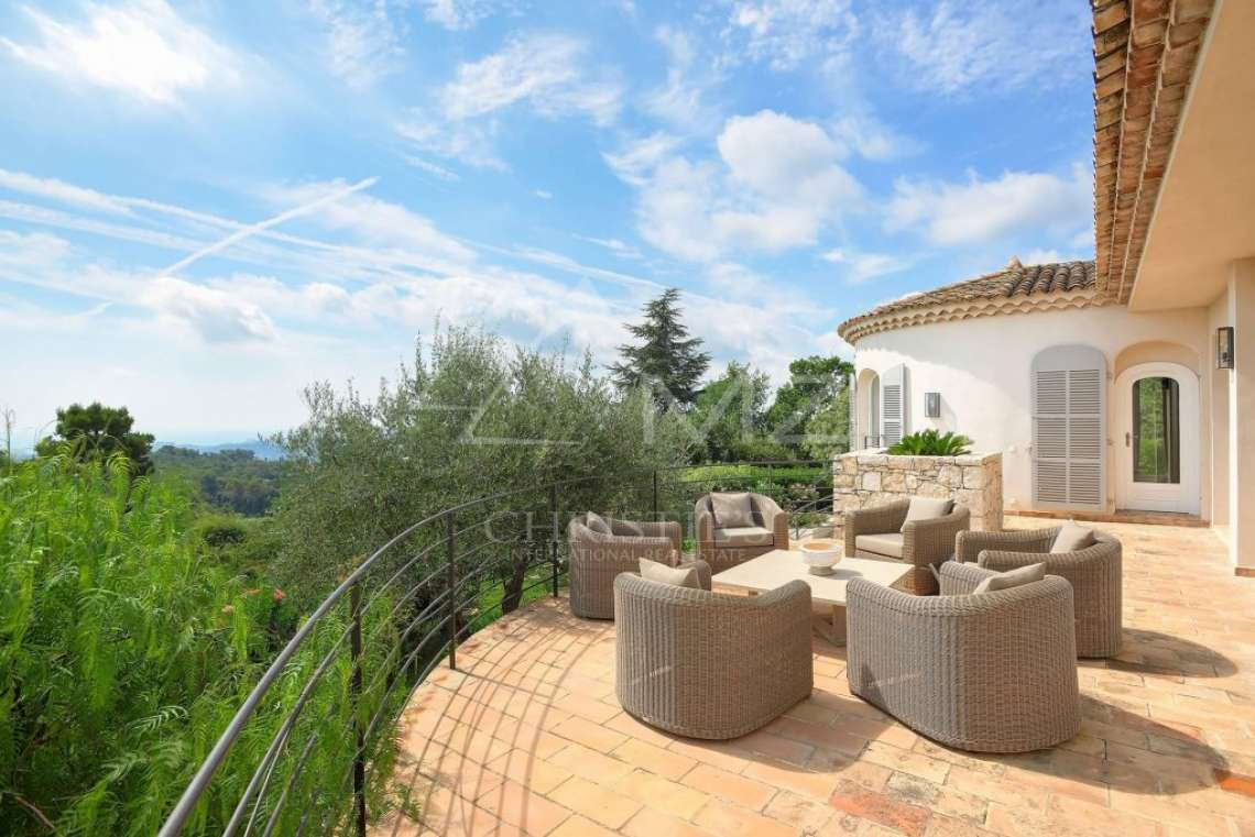 Saint Paul-de-Vence - Belle villa avec vue mer - photo3