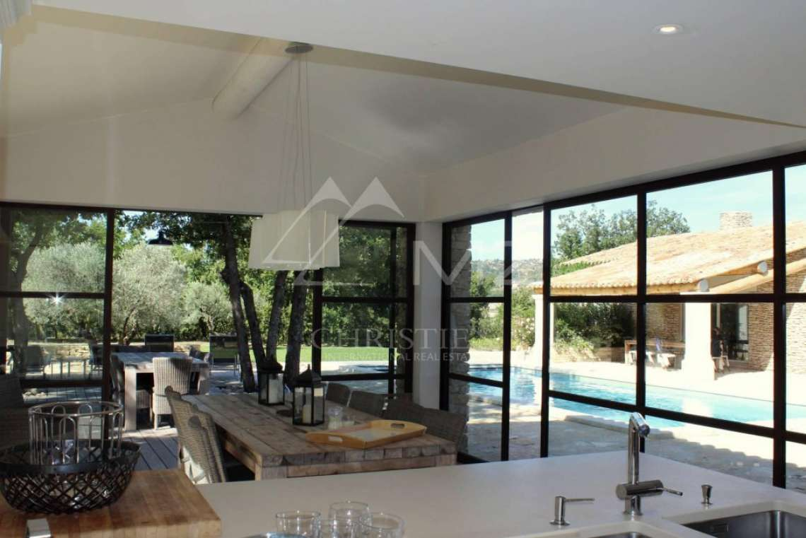 Gordes - Beautiful stone house with pool - photo5
