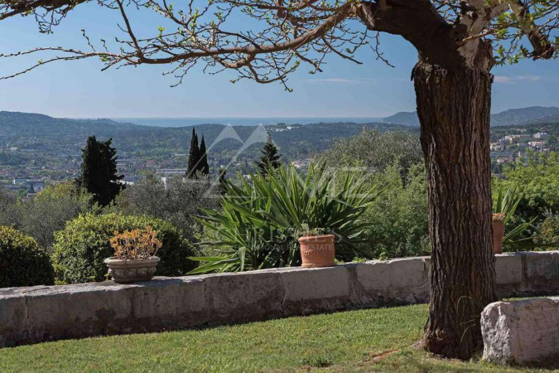 Cannes back country - Provençal villa with sea view - photo15