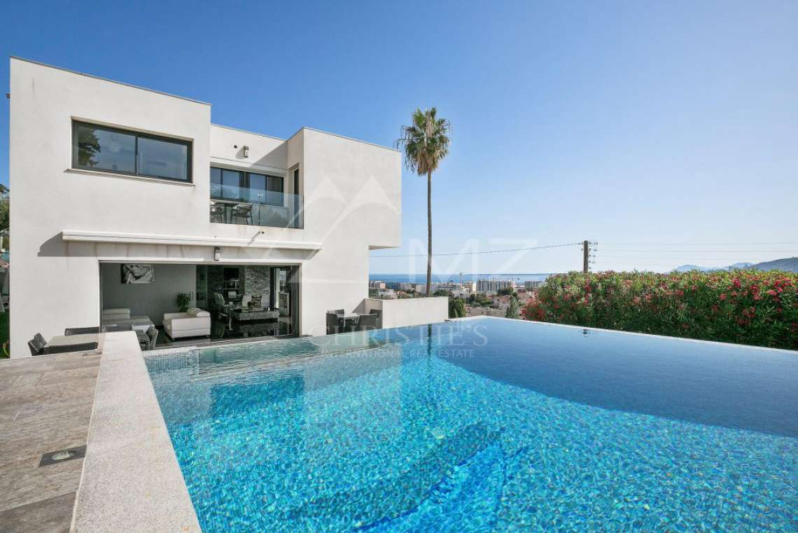 Antibes - Remarkable contemporary villa - photo1