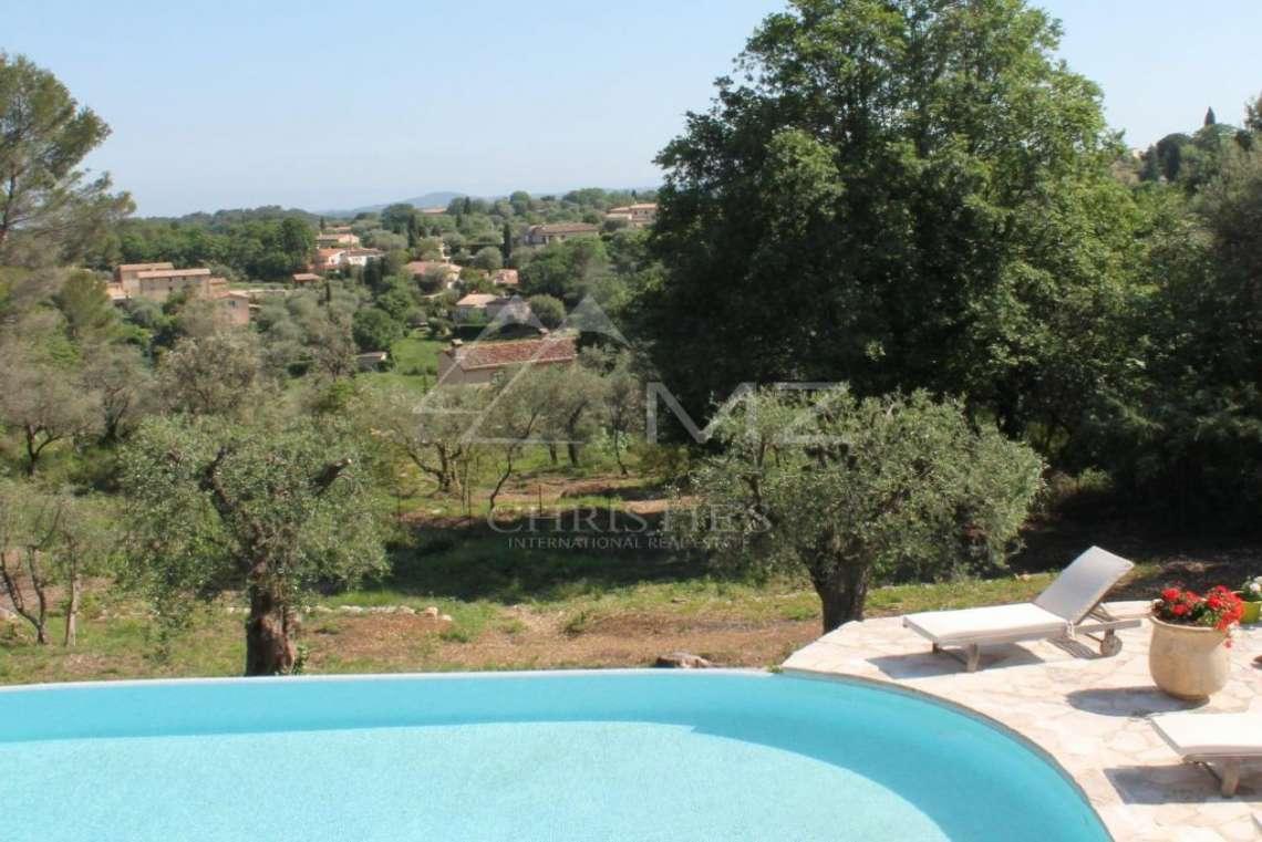 Arrière-pays cannois - Mas en pierre avec une belle vue - photo13