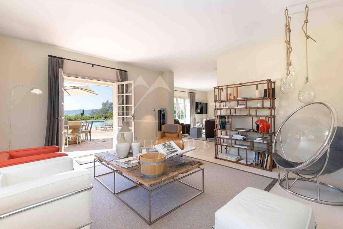 Close to Mougins - Castellaras - Superb villa in exceptional environment - photo8