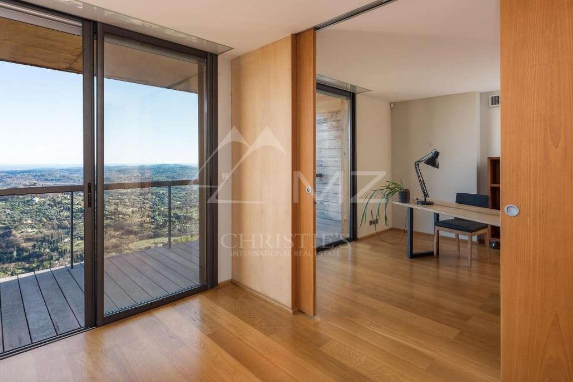 Arrière-pays cannois - Villa contemporaine avec vue - photo21