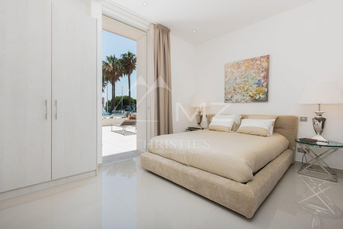 Cannes - Croisette - Villa-Apartment with panoramic sea views - photo13