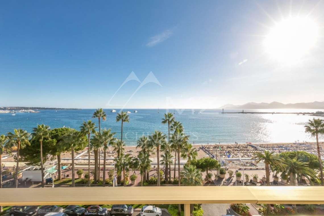 Cannes - Croisette - Appartement vue mer panoramique - photo2