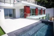 Villefranche sur mer - Luxury contemporary villa with overlooking view over the bay - photo16