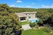 Gordes - Belle maison en pierres avec tennis et piscine chauffée - photo1