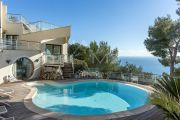 VILLEFRANCHE SUR MER - VILLA CONTEMPORAINE - photo1