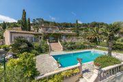 Proche Cannes - Belle villa provençale de caractère avec vue mer - photo1