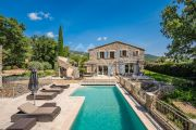 Grimaud - Beautiful renovated stone mas and guest annexe with waterfall - photo1
