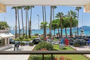 Cannes - Croisette - Elégant 3 pièces avec belle vue mer - photo1