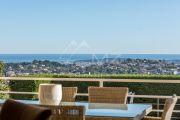 Proche Cannes - Hauteurs de Vallauris - Villa vue mer panoramique - photo2
